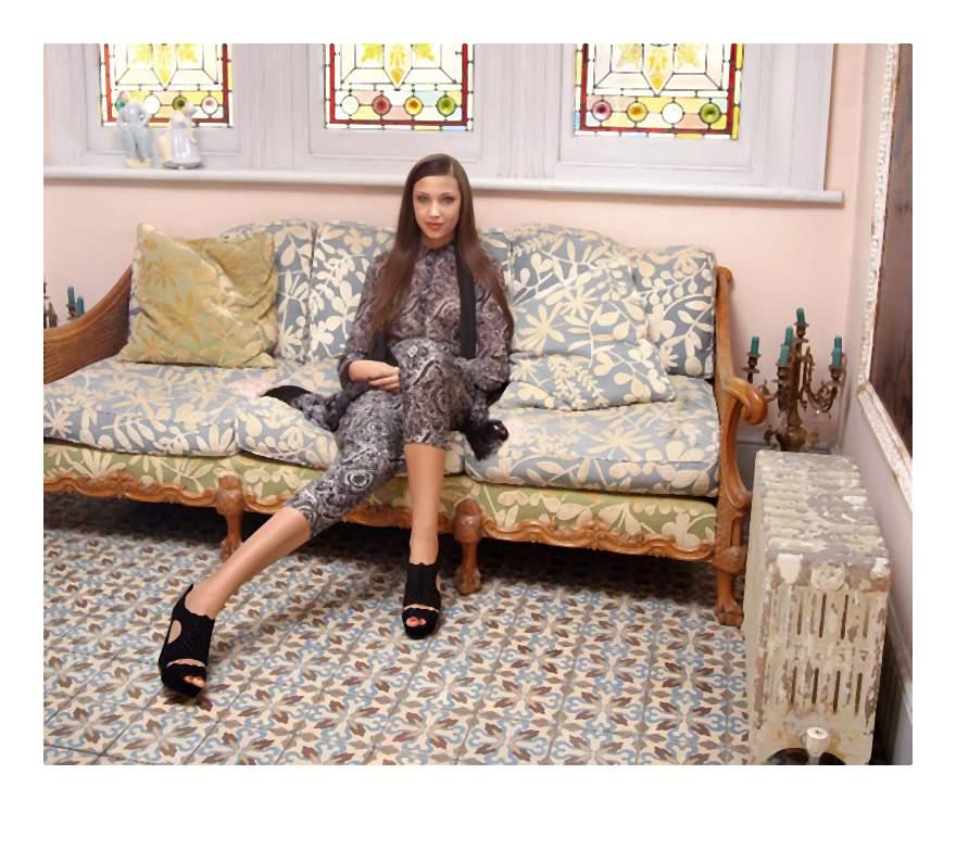 Moda oparta na tradycyjnej kulturze Dalekiego Wschodu i nowoczesnych trendów w modzie